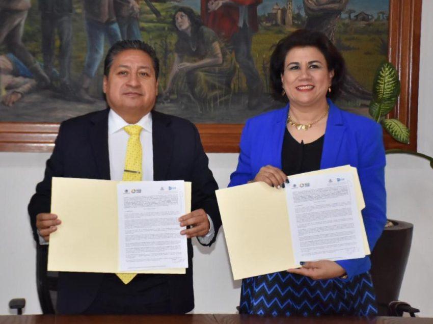 Firman convenio de colaboración Ayuntamiento de Soledad y el ITSLP