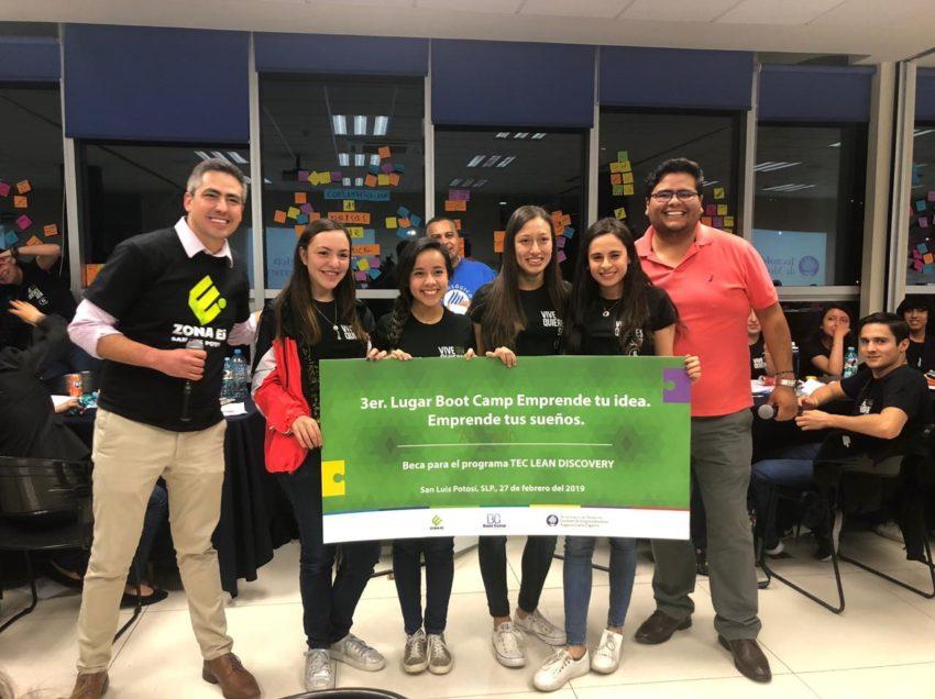 Premia el Tec de Monterrey SLP a estudiantes emprendedores