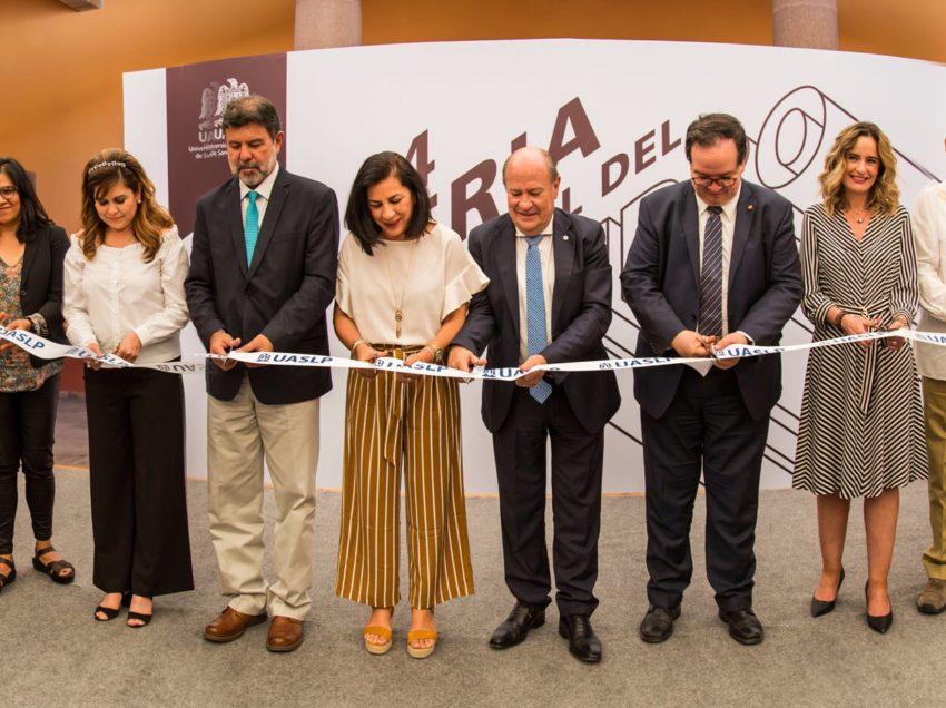 Inicia 44 edición de la Feria Nacional del Libro de la UASLP