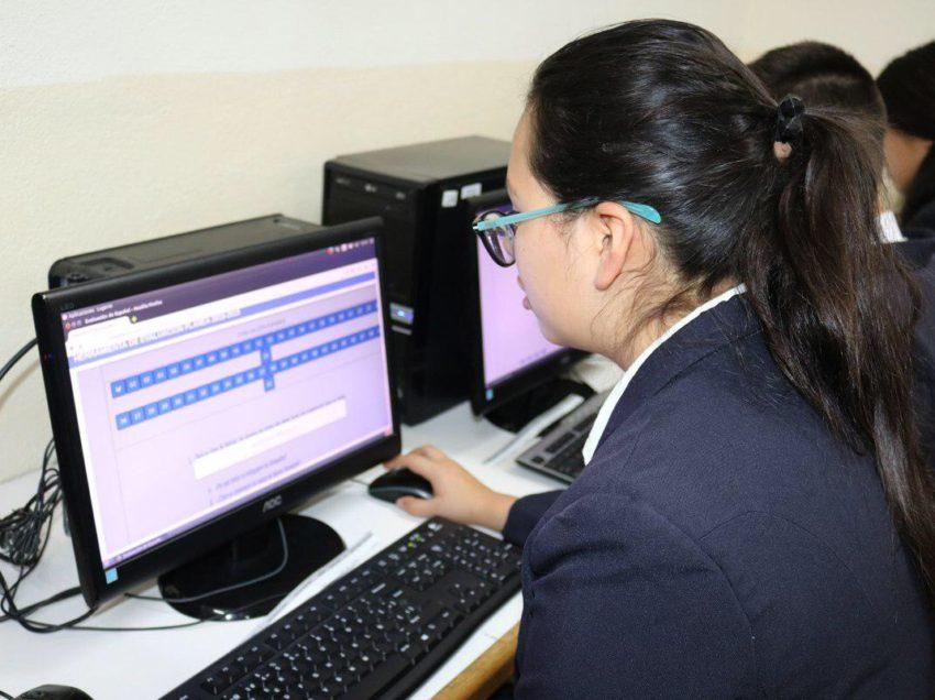 SEGE aplicó evaluación similar a prueba PLANEA