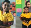 A falta de dinero, niño le regala un gallo a su maestra por su cumpleaños