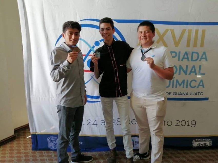 Alumno del Cobach logra medalla de plata en Olimpiada Nacional de Química