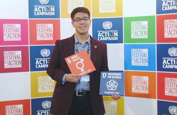 Representará estudiante a México en Festival de la ONU