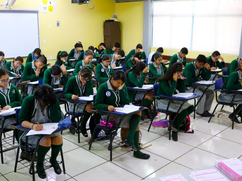 Aplican prueba PLANEA 34mil alumnos