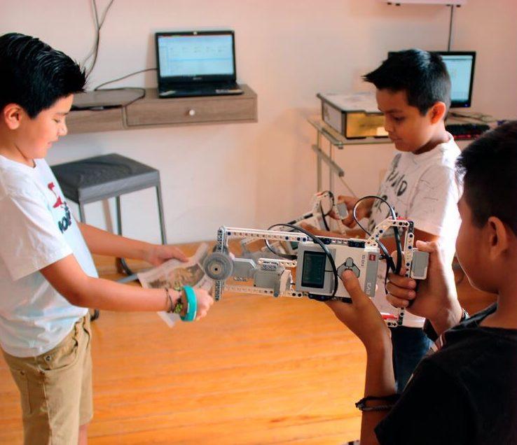 La robótica, una técnica para inducir a los niños a la ciencia