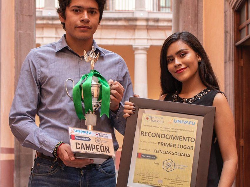 Alumnos de la Uaslp 1er lugar en concurso internacional Copa Science de México