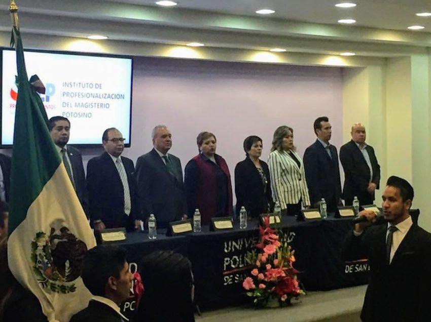 Instituto de profesionalización del magisterio potosino  fundamental en la formación de los docentes