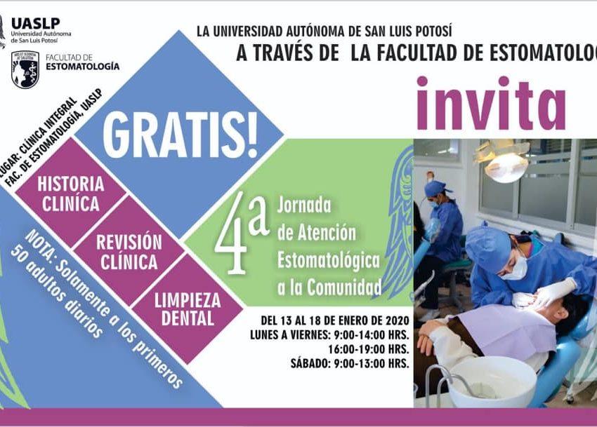 Arranca Facultad de Estomatología 4tas jornadas de Atención Estomatológica a la Comunidad