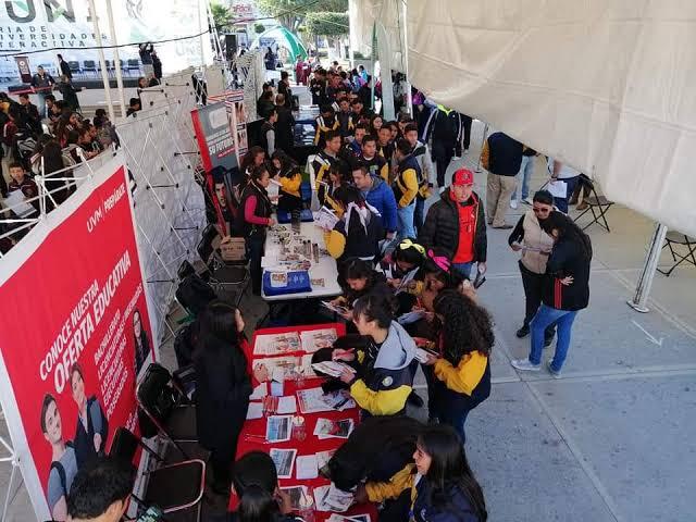 Inauguran la feria interactiva de universidades