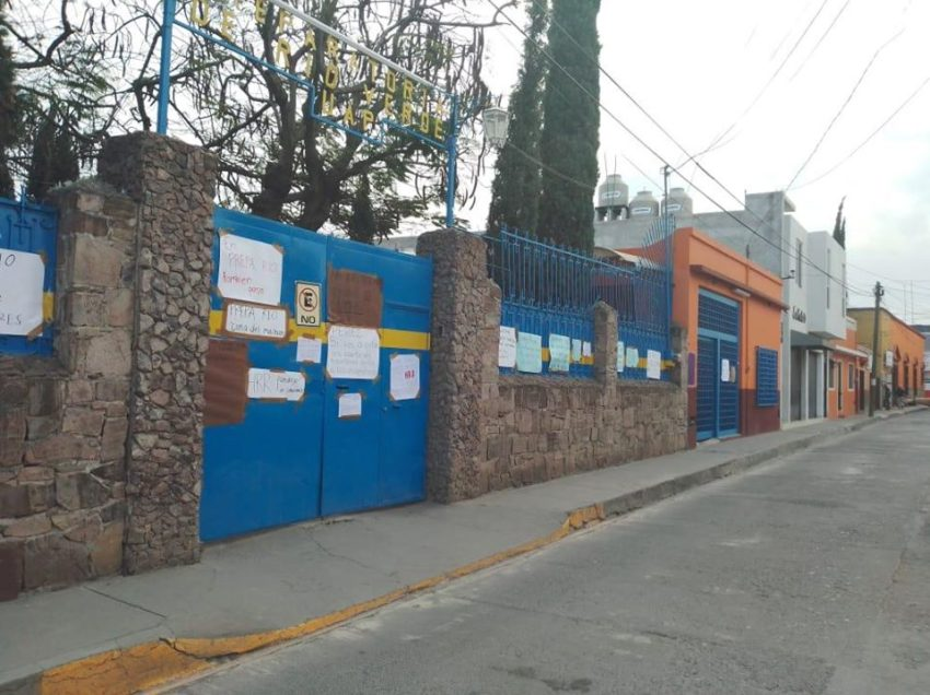 Denuncian acoso sexual en la Preparatoria Rioverde