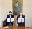 Congruente con su plan de trabajo, rector firma convenio con la CEDH