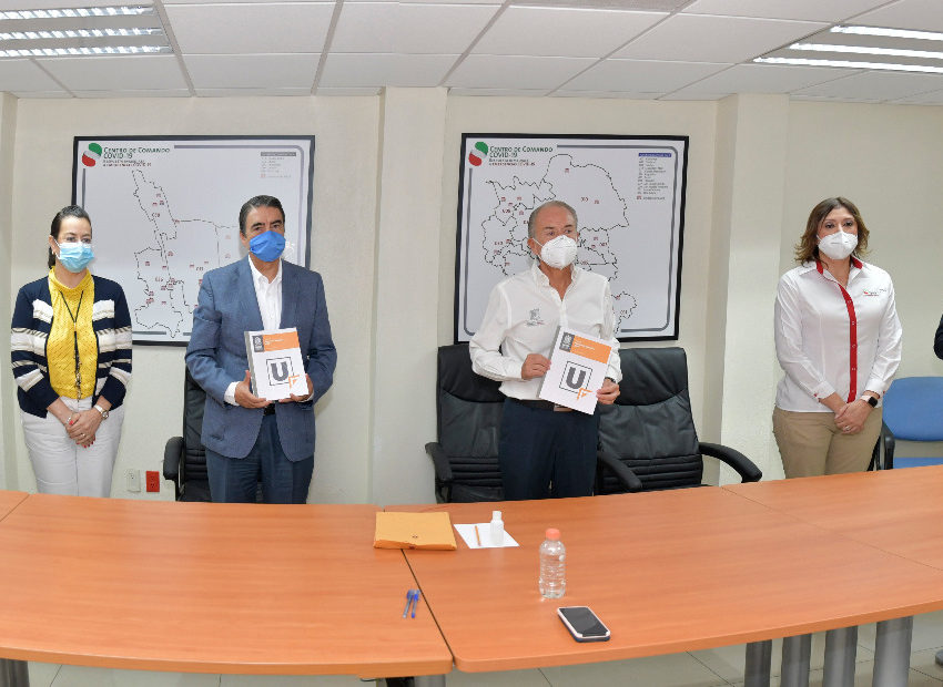 Reconoce JM Carreras protocolos sanitarios adecuados en proceso de admisión de la UASLP