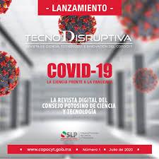 Publica COPOCYT revista electrónica semestral TECNODISRUPTIVA