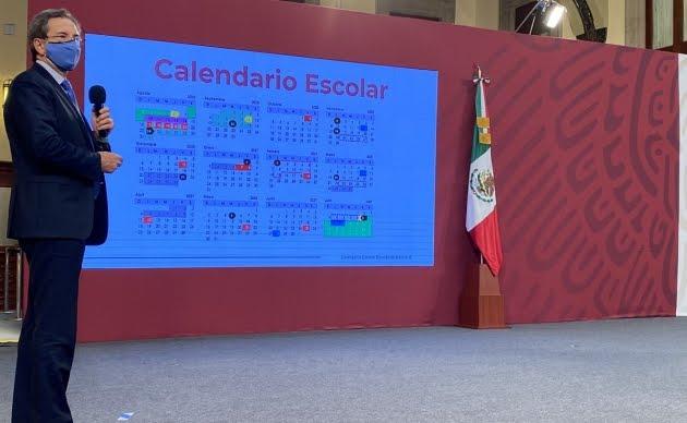 Detalla SEP calendario escolar ciclo 2020-2021