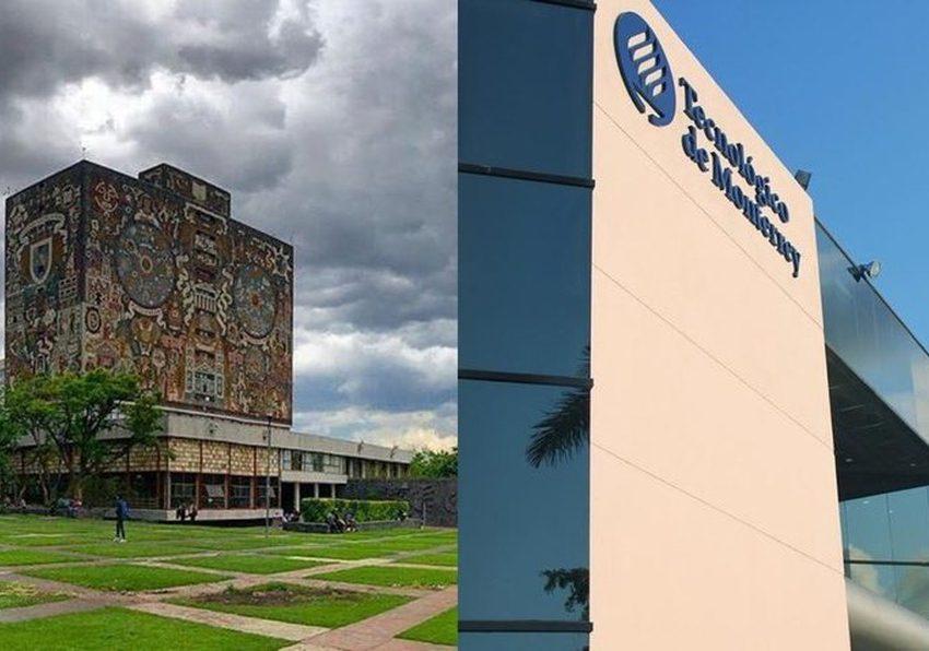 UAM y Tec de Monterrey, por encima de la UNAM en ranking de mejores universidades del mundo