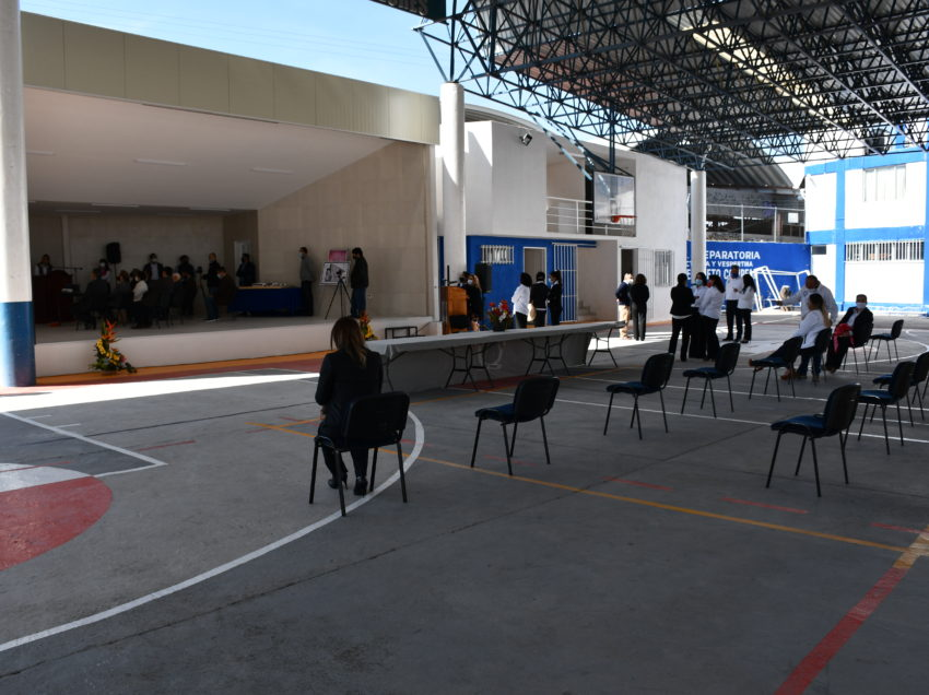 Obras por 2.5 millones de pesos para la preparatoria Jesús Silva Herzog