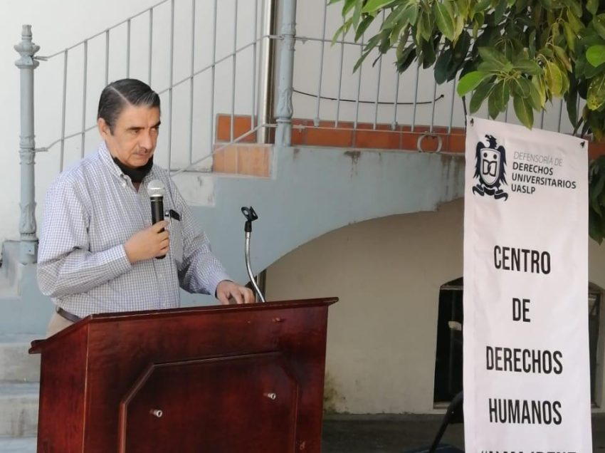 Rector inauguró el Centro de Derechos Humanos de la Defensoría de los Derechos Universitarios en la Zona Media