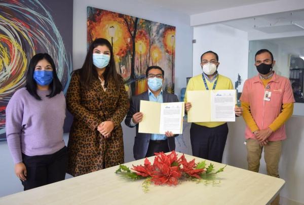 UASLP signa convenio general de colaboración para prestación de servicio social y parte clínica, con el Instituto Temazcalli