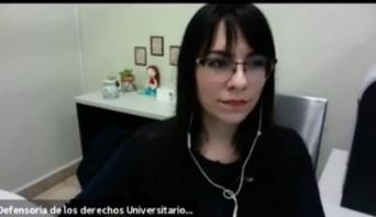 «Detectando las violencias de género», charla de la doctora Carolina Olvera Castillo